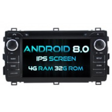 Android 8.1 For TOYOTA AURIS 2013 (W2-RH5534)