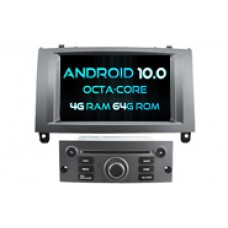 Android 10  PEUGEOT 407 (W2-RVT5588S)