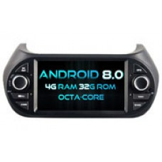 Android 8.0 Deckless FIAT Fiorino (W2-V5538)