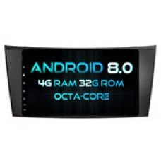Android 8.0 MERCEDES-BENZ E CLASS W211 (W2-V5352)