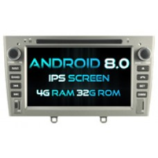 Android 8.0 PEUGEOT 408 2010-2011 (W2-V5634S)