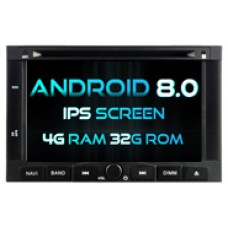 Android 8.0 PEUGEOT 3008/5008 (W2-V5738)